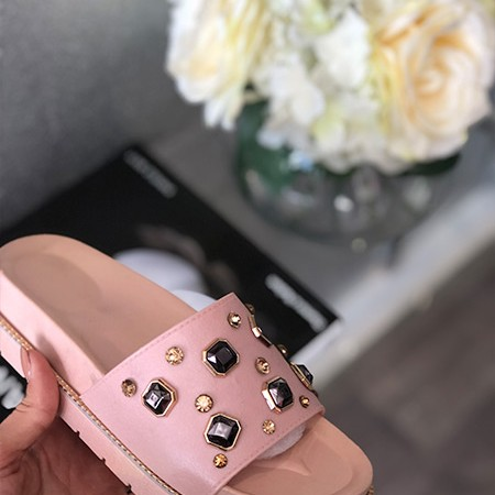 Pink Gem Sliders